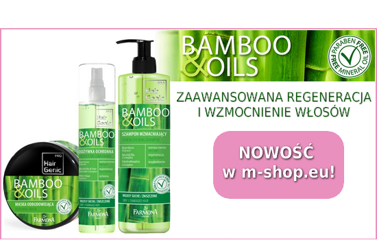 Farmona Hair Genic Bamboo & Oils NOWOŚĆ w m-shop.eu!