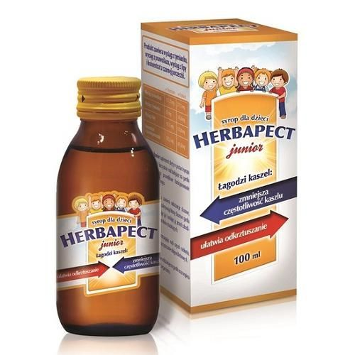 Herbapect junior syrop cena