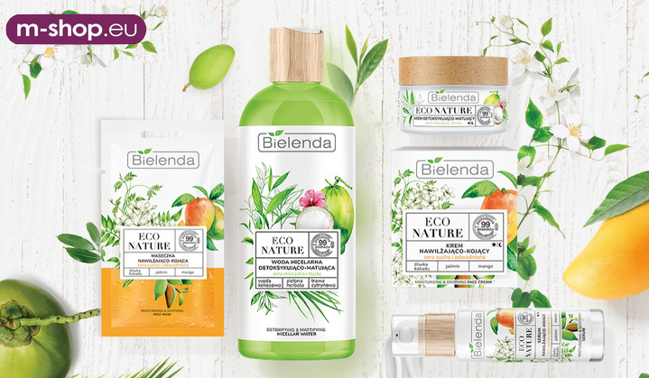 BIELENDA ECO NATURE JUŻ W M-SHOP.EU