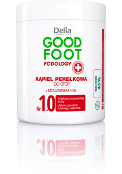 Delia - Good Foot Podology - Nr 1.0 kąpiel perełkowa DO STÓP 200g 5901350466476