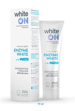 WhiteON - Pasta do zębów ENZYME WHITE 75ml 5902719410628