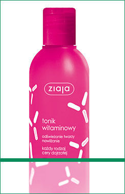 Ziaja - Witaminowa - TONIK do twarzy 200ml 5901887003984